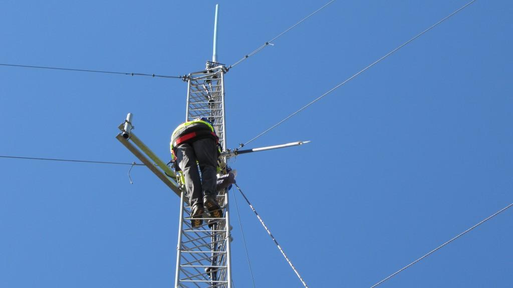 Radial Install Old Antenna Inspection Sept 2014