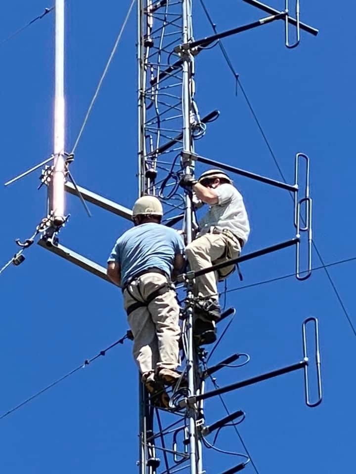 Spout Antenna Reinstall