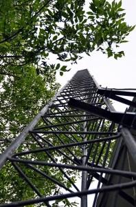 K7LW Tower Raising