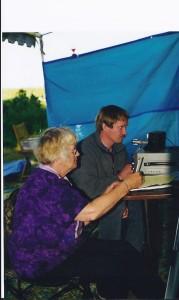 Charlene KC7RQF & Frank KD7EWW, 2000