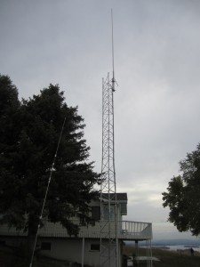 Pasco Repeater Antenna on half tower
